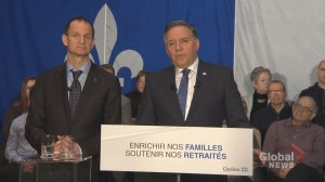 New Quebec government unveils economic update